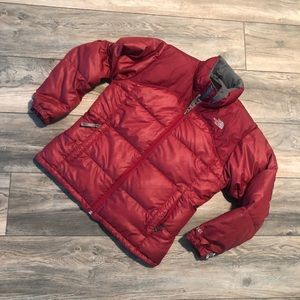 North Face Ribbed Puffer 600 Down Girls L Women Sm